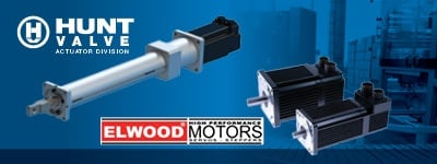 Hunt Valve Actuators and Elwood Motors Partnership